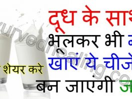 - do not eat these things with milk in hindi 265x198 - आयुर्वेद हीलिंग